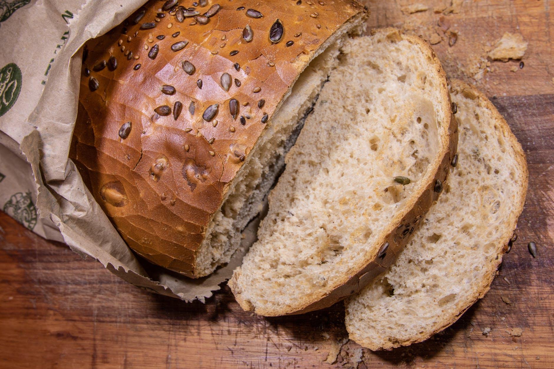 Krajíčky chleba