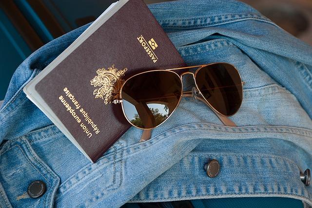 připraveno na cestování