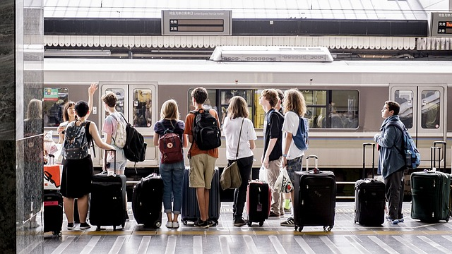 čekání na nádraží
