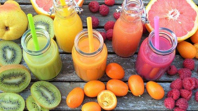Léčivé nápoje s vitamíny