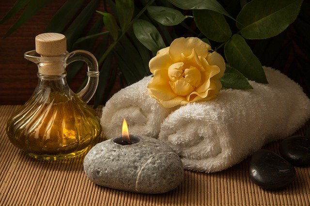 ručníky a olej