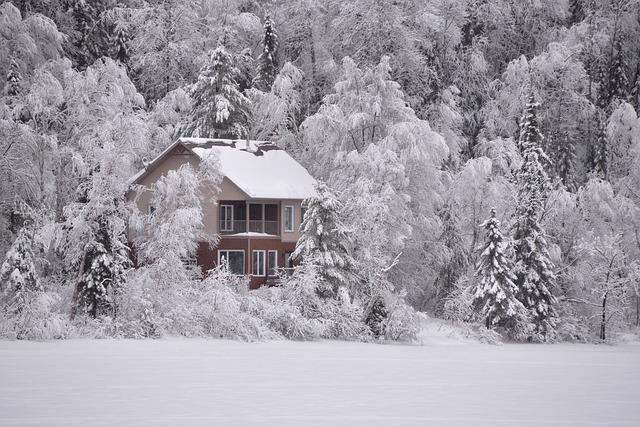 zimní romantika